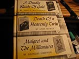 img - for A Deadly Shade of Gold, Death of a Heavenly Twin, Maigret and the Millionaires (Detective Book Club) book / textbook / text book
