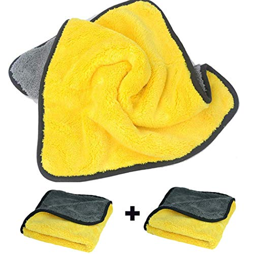 (Car Microfiber Towel,Premium Professional Soft Microfiber Towel Lint Free,12