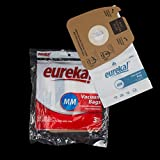 2 packages of EUREKA OEM VACUUM PAPER BAG STYLE MM CANISTER 3 PACK