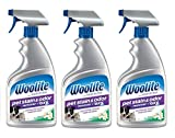 Woolite Pet Stain and Odor Remover Spray Bottle, 22 fl oz (Pack of 3)