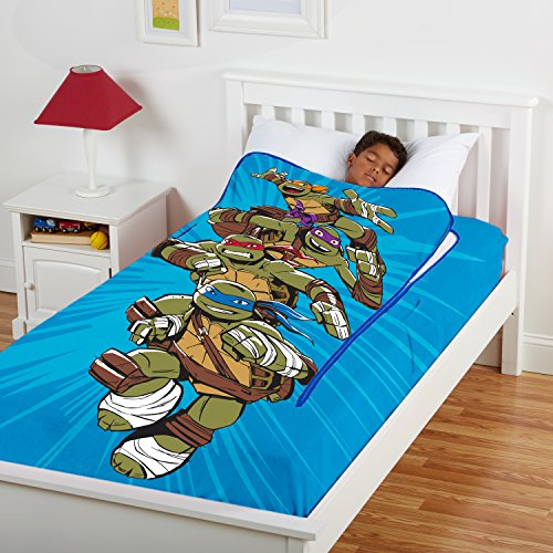 ZippySack - Nickelodeon Teenage Mutant Ninja Turtles (Twin Size) (Bed Sheets Turtle)