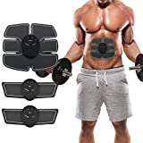Mousand ABS Stimulator Ab Ultimate Abdominal Muscle Toner Electric Trainer Exercise Monavy Machine Wireless Portable Unisex Home Fitness Workout Equipment for Abdomen Arm Leg Waist for Men Women