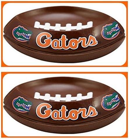 2 Florida Gators NCAA Licensed Soap Dishes