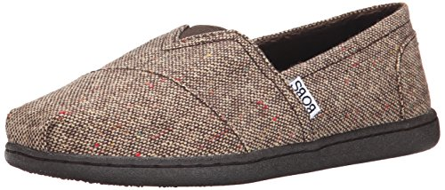 Brown Flat M Bliss Us Woven 10 Bobs Women's From Skechers Highbrow CYXYqn