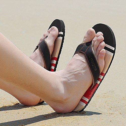 Xing Lin Sandalias De Hombre El Hombre Arrastrando Las Zapatillas De Playa Hombres Antideslizante Zapatillas Para Hombres Verano Hombre De Zapatillas gules