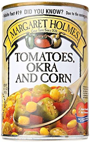 McCall Farmsery Margaret Holmes Tomatoes Okra and Corn, 15 oz