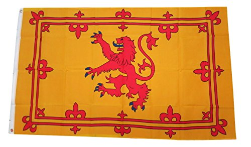 TrendyLuz Flags Scotland Scottish Lion Royal Standard Country Banner Flag 3x5 Feet