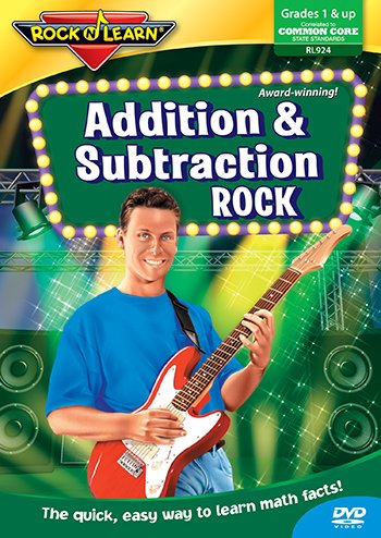 * ADDITION & SUBTRACTION ROCK DVD