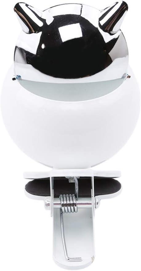 Noir LMiracle Home 1pc cendrier en m/étal Clip Ceinture Ktv Grand cendrier avec Couvercle cendrier pour cendrier de Serrage avec Couvercle chrom/é