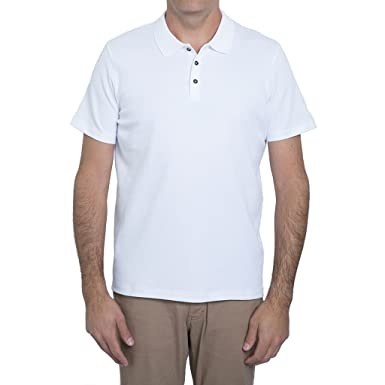bd79b2a8d English Laundry White Short Sleeve Polo Shirt at Amazon Men s Clothing  store