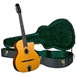Cigano GJ-10 Petite Bouche Gypsy Jazz Guitar with Hardshell Case