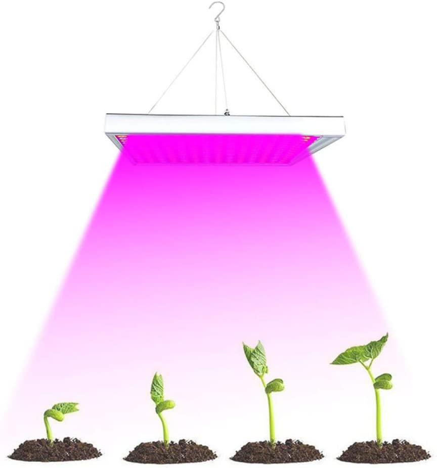 Luz De Crecimiento De Espectro Completo Led Grow Light 1000W 225 Led   Para Plántulas Phyto Lamp Para Plantas Full Spectrum Indoor Grow Tent Box Kit De Lámpara Colgante