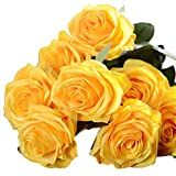 Artificial silk 1 Bunch 10 Head French Rose Floral Bouquet Fake Flower