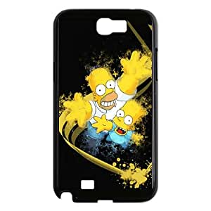 The Simpsons Samsung Galaxy N2 7100 Cell Phone Case Black Phone cover Y4440085