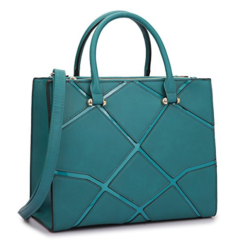 Turquoise Bags And Shoes - 3