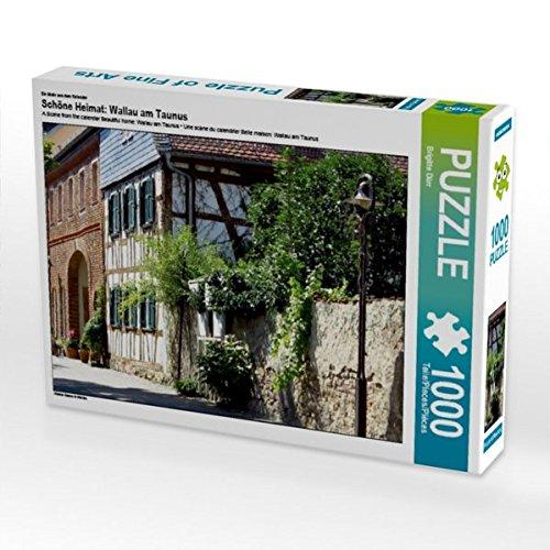 Ein Motiv aus Dem Kalender Schöne Heimat: Wallau am Taunus 1000 Teile Puzzle Quer