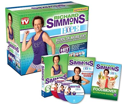 92339e703f4 As Seen On TV Richard Simmons Project H.O.P.E. Home Workout System DVD