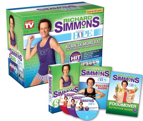 As Seen On TV Richard Simmons Project H.O.P.E. Home Workout System DVD (Workout Plan For Skinny Guys At Home)