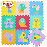 9pcs Meitoku Baby EVA foam puzzle mat /Animal Education Interlocking Exercise Tiles 12