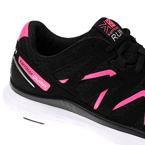 Zapatos Mujer correr Negro para Karrimor Duma Rosa wOE0qnRn