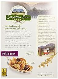 Cascadian Farm Raisin Bran, 12 oz
