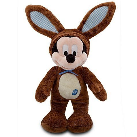 Official Disney Limited Edition 2012 Scented Easter Bunny Mickey Mouse Plush -- 14''