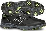 New Balance Men's nbg2004 Golf Shoe, Black/Green, 13 D US