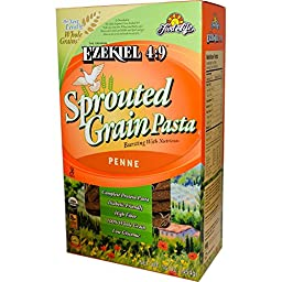Food For Life, Ezekiel 4:9 Sprouted Grain Pasta, Penne, 16 oz (454 g)