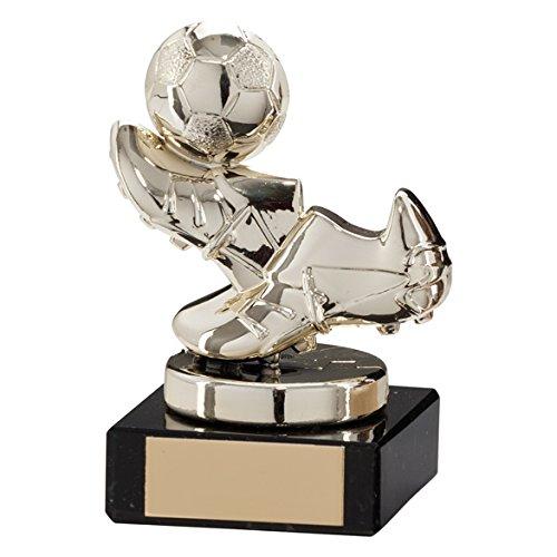 95 mm agilidad plástico botas y bola de oro trofeo de fútbol ...