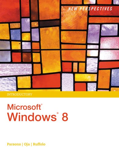 New Perspectives on Microsoft Windows 8, Introductory Pdf