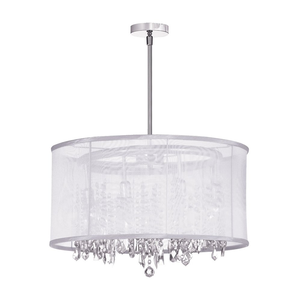 Chandelier With Shades And Crystals Dainolite lighting 85302 pc 119 8 light crystal chandelier dainolite lighting 85302 pc 119 8 light crystal chandelier amazon audiocablefo