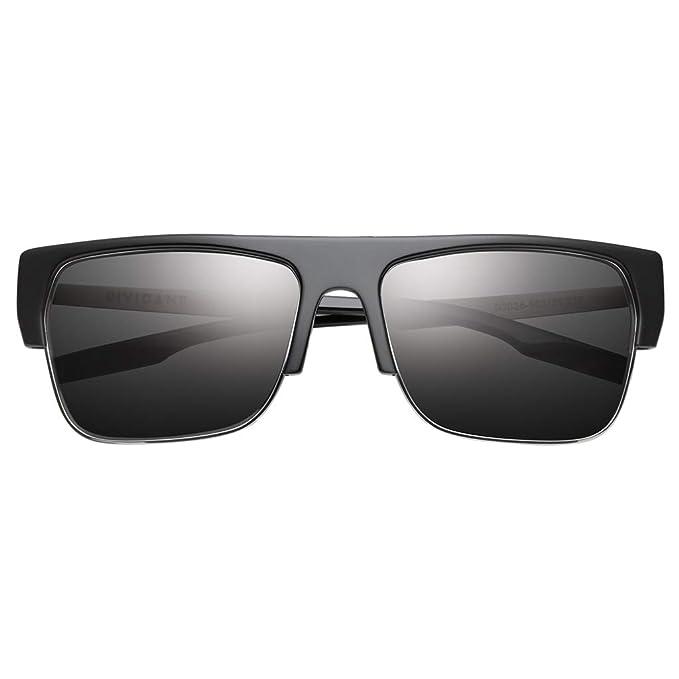 Amazon.com: IVI Dividant - Gafas de sol para hombre, talla ...
