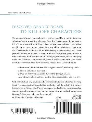 HowDunit - The Book of Poisons by Writer's Digest Books