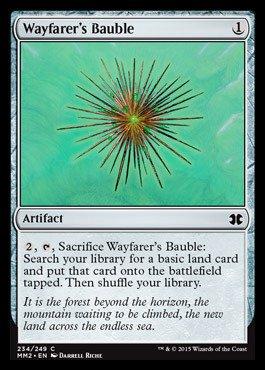 Magic: the Gathering - Wayfarer's Bauble (234/24) - Modern Masters - Types Wayfarer Of