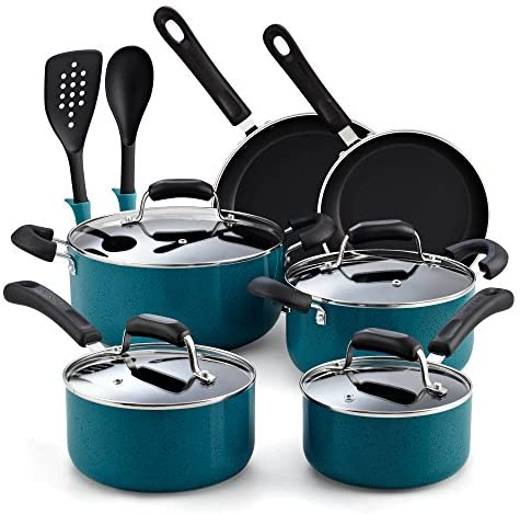 Cook Home 02588 12 Piece Turquoise