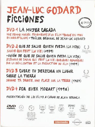Pack J.L.Goddard Ficciones (Cofre 4 Dvd) [Import espagnol]