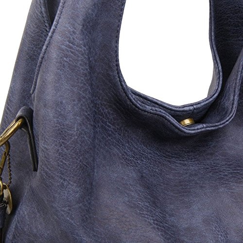 Body The Cross Hobo Tote Shoulder Blue Bag Amia Purse 7qx7ZwPg