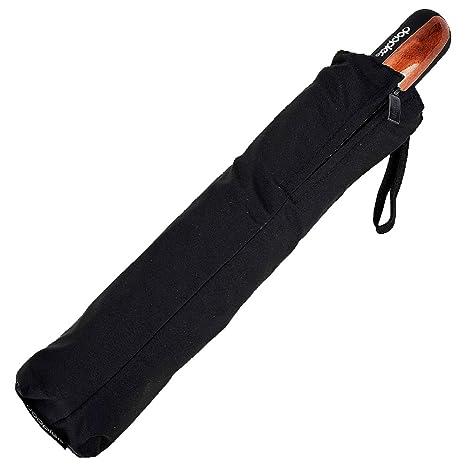 Knirps Carbon Magic XM Business Paraguas clásico, 94 cm, Negro (Black)