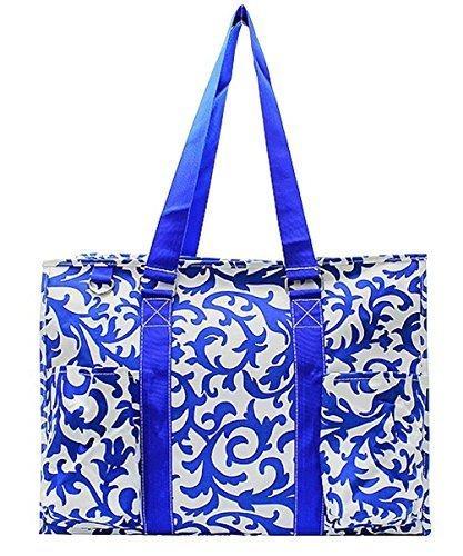 Royal Blue Tote Handbag - N. Gil All Purpose Organizer 18