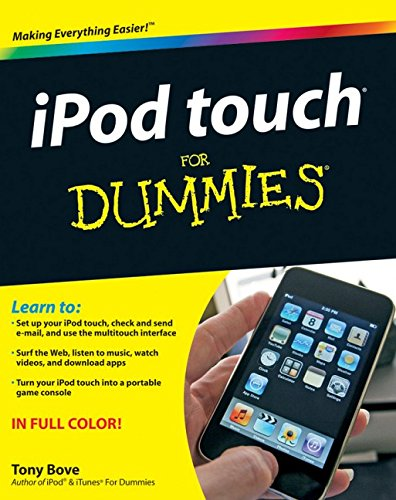 Price comparison product image iPod touch For Dummies