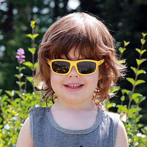 Baby Toddler Polarized Sun-glasses With Strap 100/% UV Block