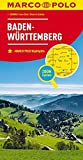 MARCO POLO Karte Deutschland Blatt 11 Baden-Württemberg 1:200 000 (MARCO POLO Karten 1:200.000)
