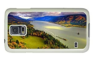 Hipster Samsung Galaxy S5 Case DIY columbia river gorge PC White for Samsung S5