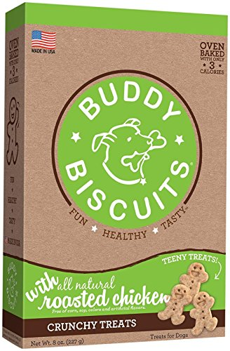Cloud Star Itty Bitty Buddy Biscuits - Roasted Chicken Flavor - 8oz.