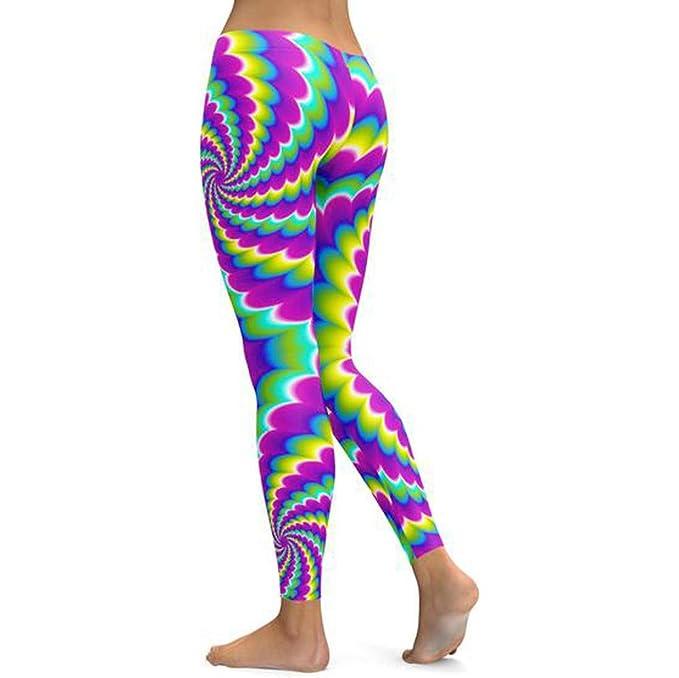 b20216f7b41304 ODRD Männer Yoga Hosen Herren Pants Frau Digital Print Sport Yoga Leggings  Laufhose Sweathose Strumpfhosen Jogging