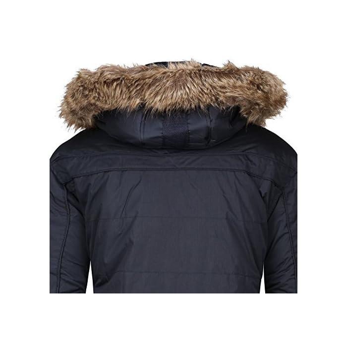 51iUnrgEUIL Gran comodidad, capucha y piel sintética extraíble. Transpirable, forro muy cálido. 100% Poliéster