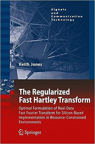 Amazon com: The Regularized Fast Hartley Transform: Optimal