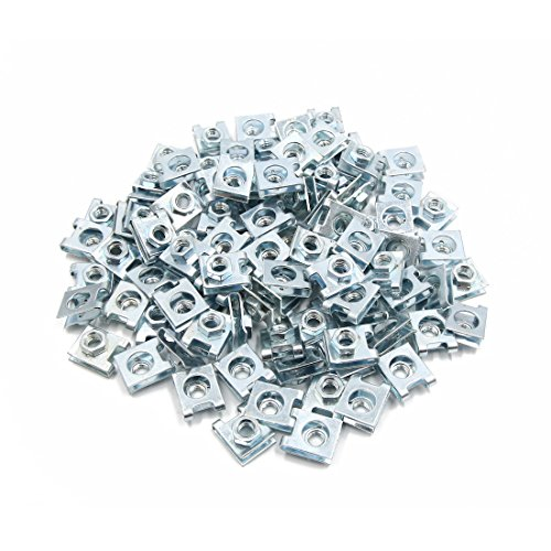 uxcell 100 Pcs 5mm Hole Dia Metal Car License Plate Rivets Panel Fastener Clips L Size by uxcell (Image #2)
