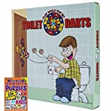 Toilet Time Game Dart Ball Set Plus Crossword Puzzle Gifts Word Search Sudoku Variety Puzzle Book