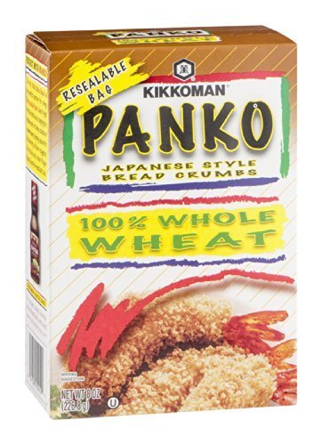 Kikkoman Panko Japanese Style Bread Crumbs 8 OZ (Pack of 24)